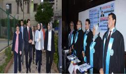 Visit of the Minister of Youth and Sports